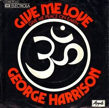 "7"" George Harrison (Beatles) – Give Me Love // Germany 1973"