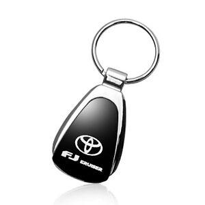 Toyota FJ Cruiser Black Tear Drop Key Chain