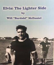 Elvis The Lighter Side Book - Autographed / Signed By Bardahl - Rare