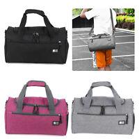 Women Men Barrel Bag School Sports Gym Handheld Bag Duffle Holdall Foldable Bag