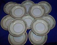 Set of 13 Noritake China Rodista Saucers 5 1/2'' Japan 590 Vintage