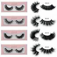 Mink Lashes Natural 3D Volume False Eyelashes Long Eye Lashes Extension Makeup