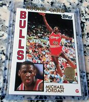 MICHAEL JORDAN 1992 Topps Archives RARE GLOSSY GOLD SP Rookie Card RC 1984 Bulls