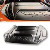 HOOD SCOOP BONNET MATTE BLACK RHINO STYLE FOR FORD RANGER MK2 PX2 2012 14 17 20