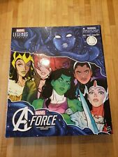 A-Force TRU Exclusive Box Set 2017 BOX ONLY Marvel Legends Avengers