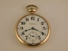 HAMILTON POCKET WATCH 49MM WIDE 992 MOVEMENT 21 JEWEL DOUBLE ROLLER 5 POSITION