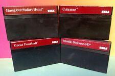 Football Hang On Safari Columns Missile 3-D SEGA SMS Master System Games Tested
