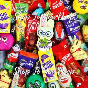 🥕MEGA EASTER CHOCOLATE MIX🐰Egg Hunt Kids Party Bunny Kinder Cadbury Mini Egg🐥