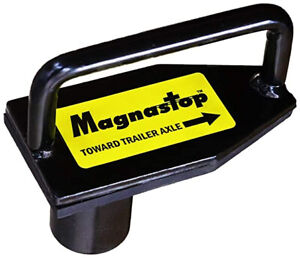 Magnastop Trailer Axle Stop Device Black 2.75 pounds