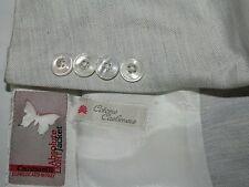 CANTARELLI Absolute Light Jacket (USA Sz) 44L Cotton & Cashmere 2B No Vent