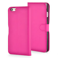 Luxury Leather Card Wallet Flip Case Cover for Apple iPhone 6S, 6