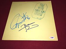 THE WHO SIGNED LP X2 PETE TOWNSHEND  PSA DNA RARE PROOF