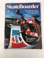 Rare Vintage SKATEBOARDER Magazine Vol 4 No 5 December DEC 1977 Bob Biniak Pepsi
