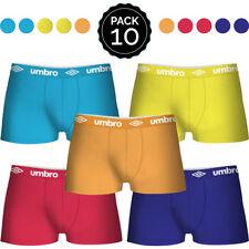 Set 10 Boxers Umbro multicolor. talla XXL