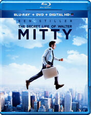 The Secret Life of Walter Mitty (Blu-Ray Disc + DVD) **New**