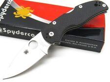 Spyderco C41Cfpe5 Black Native 5 Plain Edge Cpm 154 Steel Folding Pocket Knife