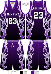 Customized Men Women Kids College Basketball Sets Blank College Tracksuits 143