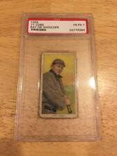 1909 T206 TY COBB PIEDMONT BAT ON SHOULDER PSA 1 BGS SGC GREAT LOOKING CARD