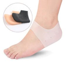 1 Pair Silicone Heel Protector Sock Cracked Foot Skin Care Pain Relief Gel Cover