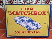 Vintage Matchbox lesney Etc. 33 cars and trucks in Original 1960s Collector case