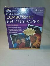 Royal Brites Professional Combo Print Inkjet & Laser High Gloss Photo Paper 120