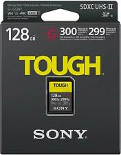 Brand New SD Card SONY SF-G128T UHS-II Tough G-Series 128GB Class10 Fast Ship