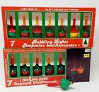 Universal Lights Bubbling Lights - Lot of 13 Christmas Lites Bubblelites Works