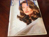 Rivista Magazine Elle France 24 Mai 1976 Charlotte Rampling