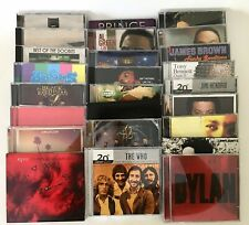 Lot 25 Cd's Rock Pop R&B Prince Hendrix Rush Marvin Gaye Dylan Who Doobie Males