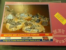 1/72 BUM British and Australian Forces - Malasya - Custom Blend - WWII - 172181