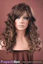 Bohemian Waves Beach Babe Wig 3Tone Brown Blonde