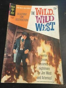 The Wild,Wild West#7 Awesome Condition 5.0(1969)