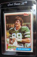 1981 TOPPS #342 MARK GASTINEAU ROOKIE CARD RC NEW YORK JETS HOF MINT OC