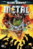 DC Dark Nights Metal The Deluxe Edition Hard Cover Comic Book