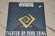 """Monette Evans-Tighten Up Your Thing - 12"""" MAXI SINGLE VINILE DISCO LP"""
