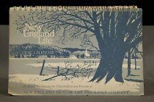 Vintage 1968 Desk Calendar Advertisement New England Life Insurance Agency