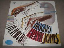 HANK JONES TRIO Arigato FACTORY SEALED LP Progressive 7004 Reissue Richard Davis