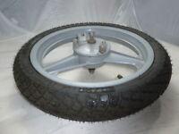 Felge mit Reifen Vorne Neu Heidenau für Piaggio Free 50 -