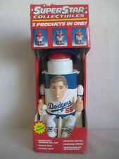 LA Dodgers MLB SUPER STAR COLLECTIBLES 3 PRODUCTS IN ONE Orel Hershiser Rare