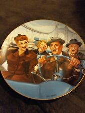 "Hamilton I Love Lucy "" California, Here We Come "" Plate"