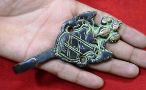 Brass Door Hook Crown Shape Handmade Vintage Style Cloths Tie Coat Hanger MJ64