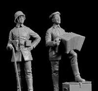 1/35 Resin Figure Model Kit German Soldiers WWI 2 figures Unpainted Unassambled