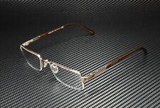 VERSACE VE1066 1053 Light Brown Demo Lens 50 mm Men's Eyeglasses