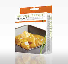 Korma Curry Kit, Makes up to 8 portions. Restaurant Style Curry. Easy to Cook