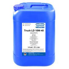 1x20l LTLD 10W40 Motoröl für LKW und Busse mit MAN M 3377 20 Liter