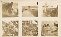 WWII 1945 GI's returns home  USS Enterprise Operation Magic 6 Photo sheet #1