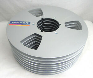 Ampex 10.5in x 1/4in Full Flange Empty Reels, Set of 8 - Used, Free Shipping