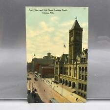 Antique Postcard Post Office Omaha Nebraska ca. 1910