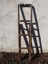 ancienne échelle de bateau en cuivre objet de marine nautisme déco industrielle
