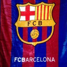 FC Barcelona La Liga Plush Throw Blanket Twin Size 60x80